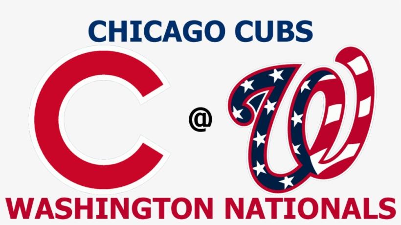 203kib, 1000x500, Cubs @ Nationals - Washington Nationals Stars And Stripes Logo, transparent png #4825207