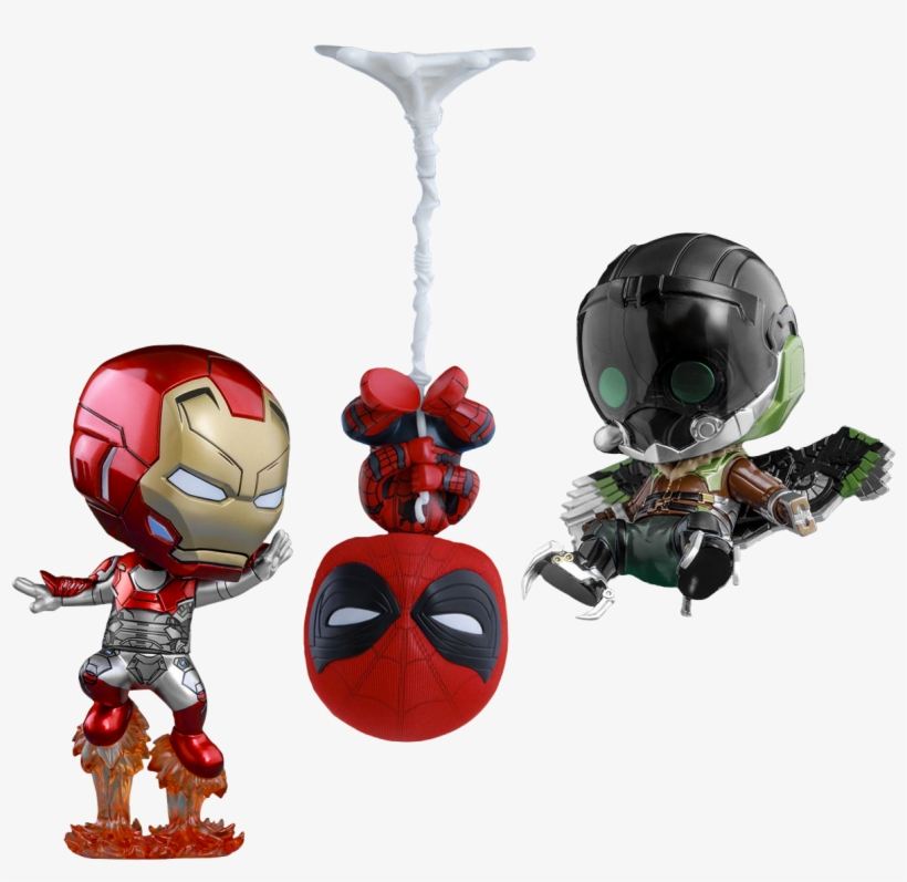 Homecoming - Spider Man Homecoming Vulture Spiderman And Iron Man, transparent png #4828350
