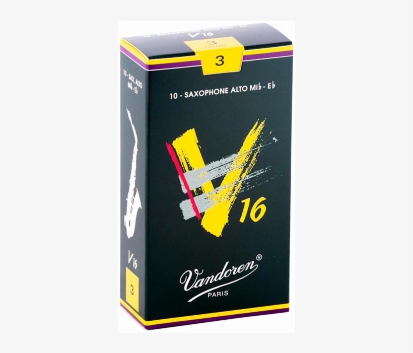 Vandoren V16 Alto Saxophone Reeds - Vandoren V16 Alto Saxophone, transparent png #4828718