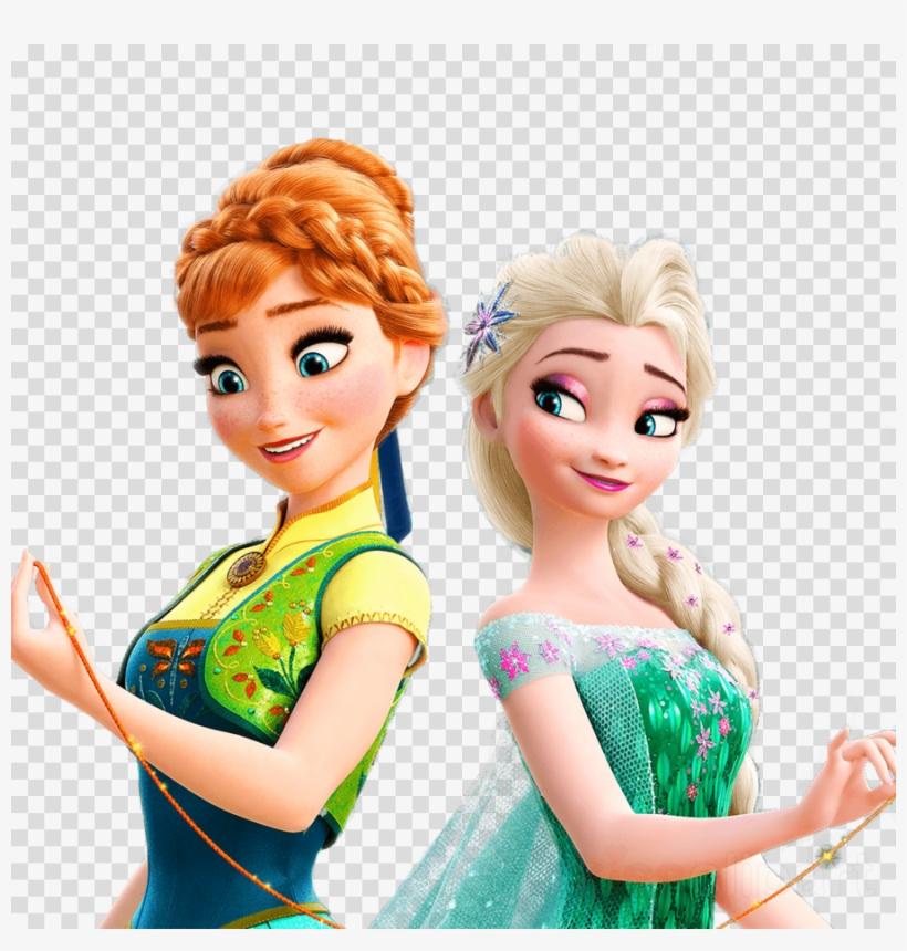 Frozen Fever Png Clipart Elsa Frozen Fever Anna - Frozen Anna E Elsa, transparent png #4832301
