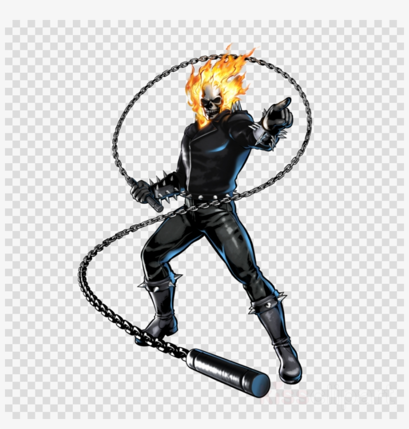 Download Ghost Rider Png Clipart Johnny Blaze Ultimate - Ghost Rider