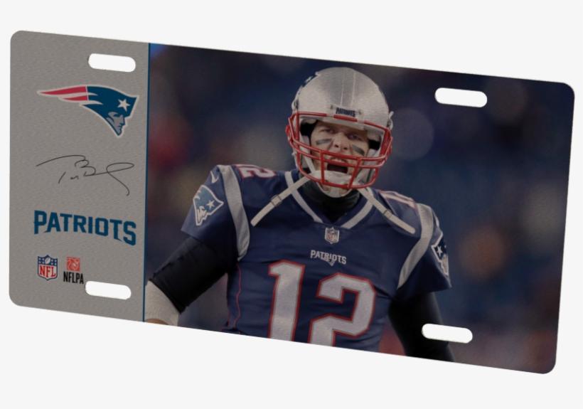 New England Patriots Tom Brady Metal Photo - New England Patriots, transparent png #4841377