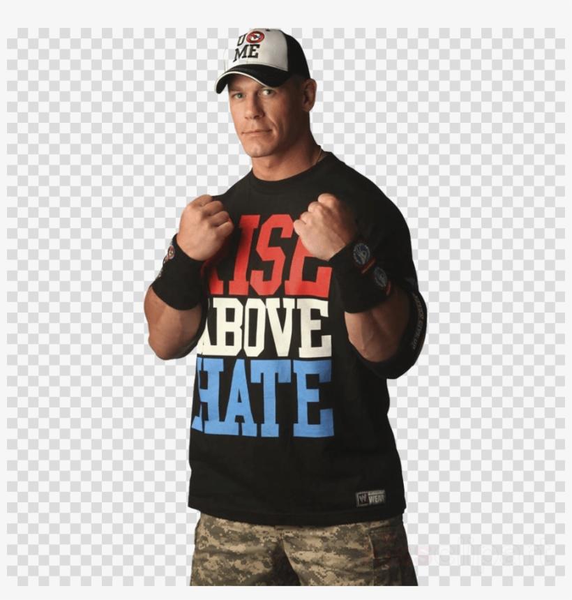John Cena Transparent Clipart John Cena Wwe Raw Wrestlemania - John Cena Rise Above Hate, transparent png #4847655