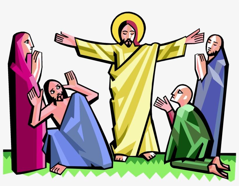 Easter resurrection. Faith in jesus clipart