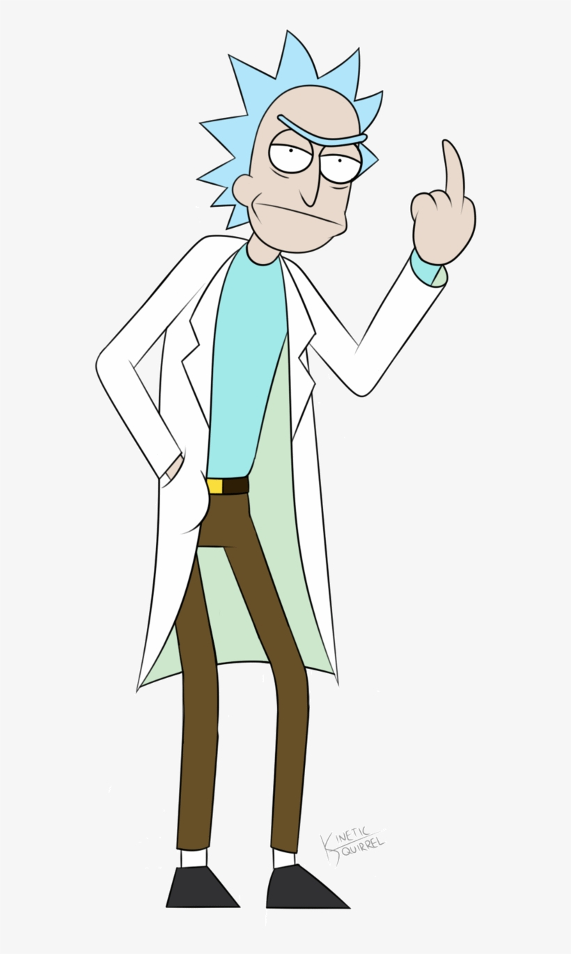 Rick And Morty Gif Png - Rick From Rick And Morty Png, transparent png #4853998