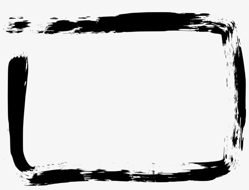 Free Download - Brush Stroke Frames Png, transparent png #4854171