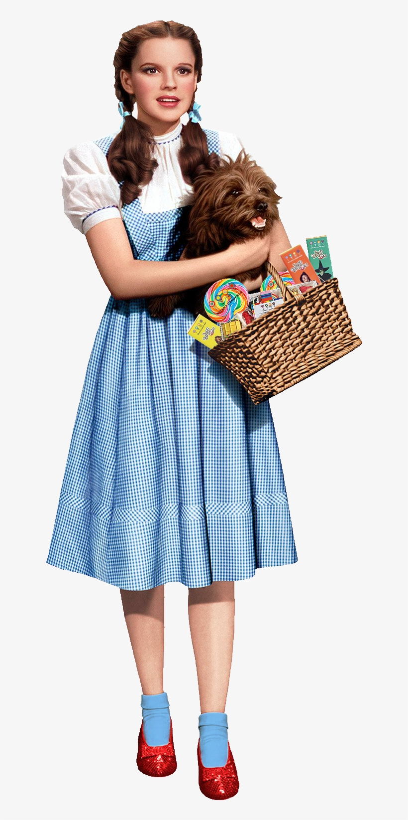 There's No Place Like Dylan's Candy Bar - Wizard Of Oz Characters Dorothy, transparent png #4862567