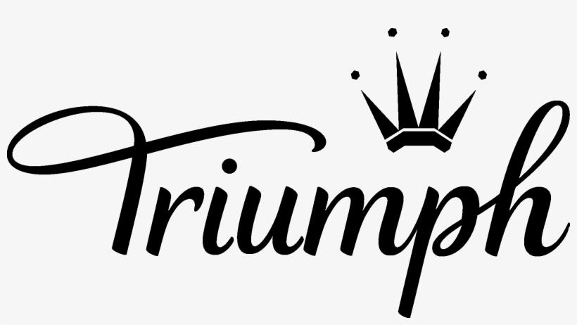 Triumph Logo - Triumph Lingerie Logo Png, transparent png #4863859