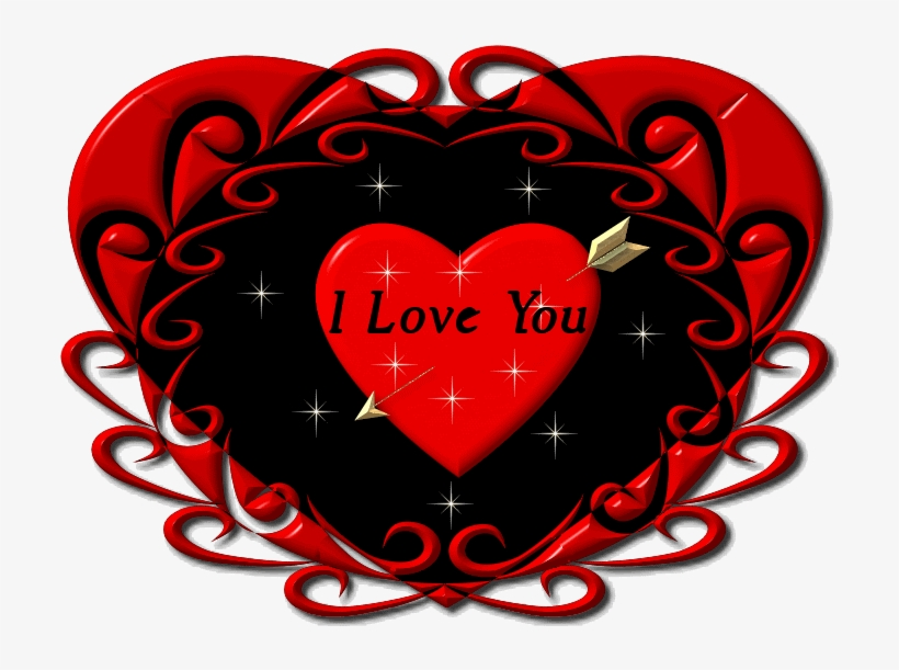 I Heart You Clipart At Free For Personal Use Gif Heart - Love You Heart Gif, transparent png #4864266