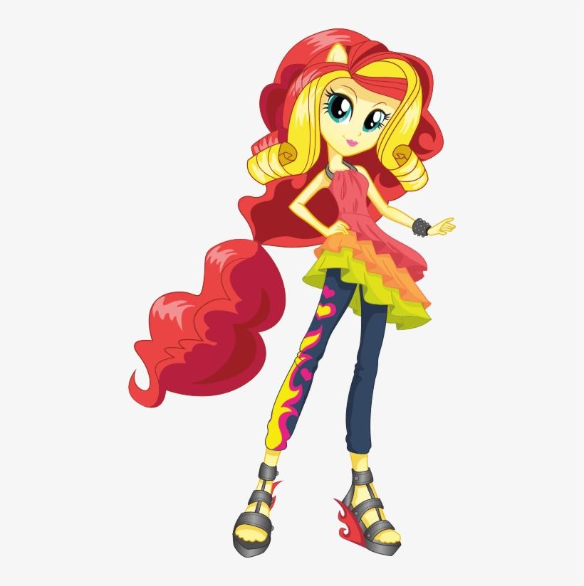 Equestria Girls - My Little Pony Equestria Girls Sunset Shimmer, transparent png #4866426