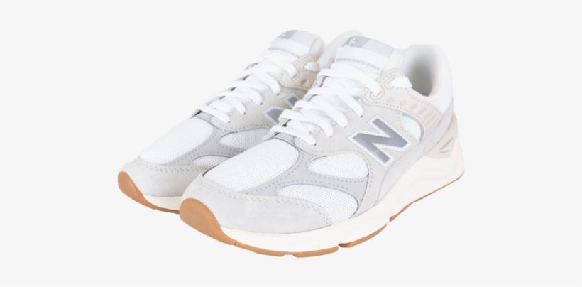 New Balance X90 'white/grey' [msx90rcb] - New Balance X90 Cloud White, transparent png #4869721