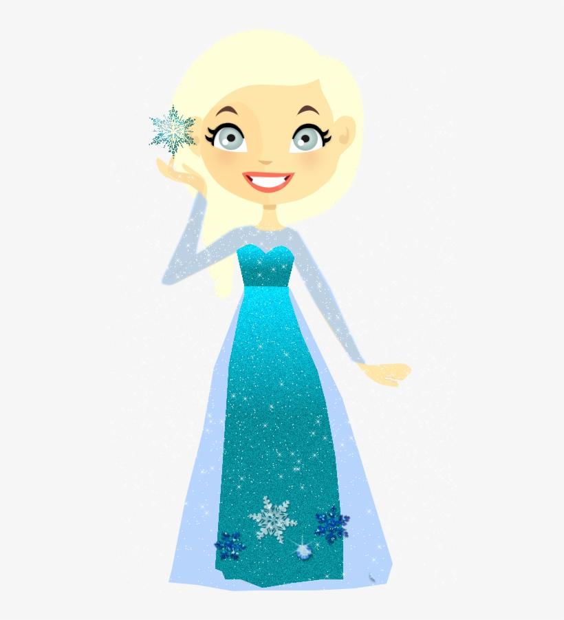 Download Frozen Clipart Elsa Disney Princess Anna - Vestido De Elsa Para Dolls Png, transparent png #4869867