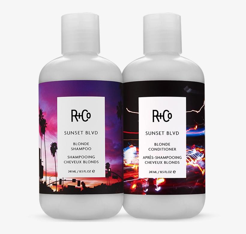 Sunset Blvd Blonde Shampoo Conditioner Set - R Co Sunset Boulevard Blonde Shampoo, transparent png #4871648