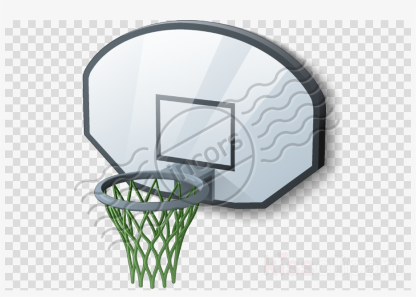 Basketball Goal Icon Png Clipart Basketball Backboard - Vector Graphics, transparent png #4883670