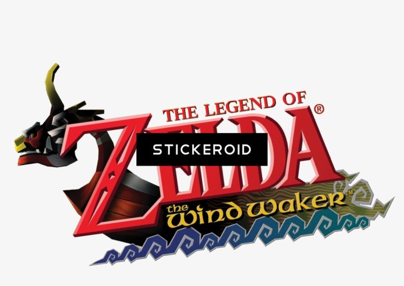 The Legend Of Zelda Logo - Legend Of Zelda Wind Waker, transparent png #4889909