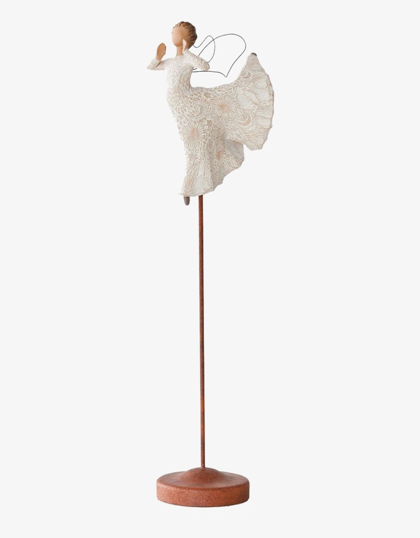 Willow Tree Nativity Song Of Joy Angel - Willow Tree Song Of Joy Figurine, transparent png #4890204