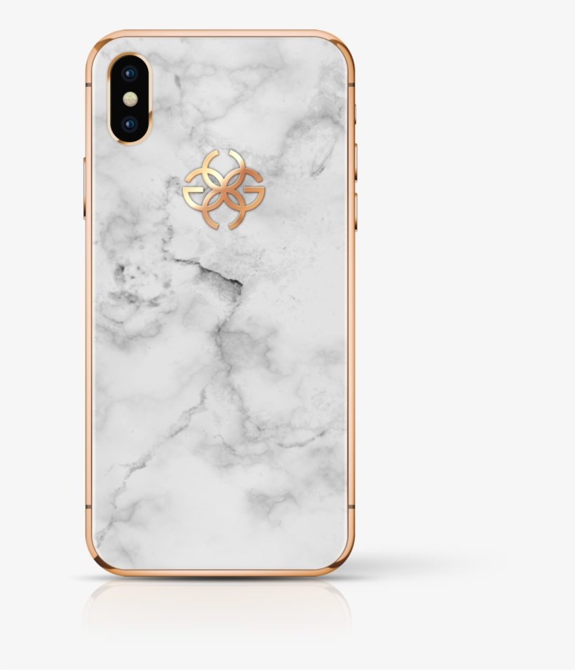 Golden Concept Iphone - White Gold Iphone X Silver, transparent png #4896885