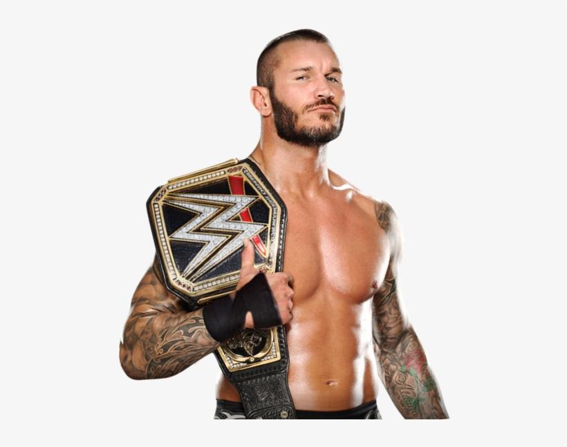 Randy Orton Tag Team Champion - Wwe Randy Orton Png 2017, transparent png #491047