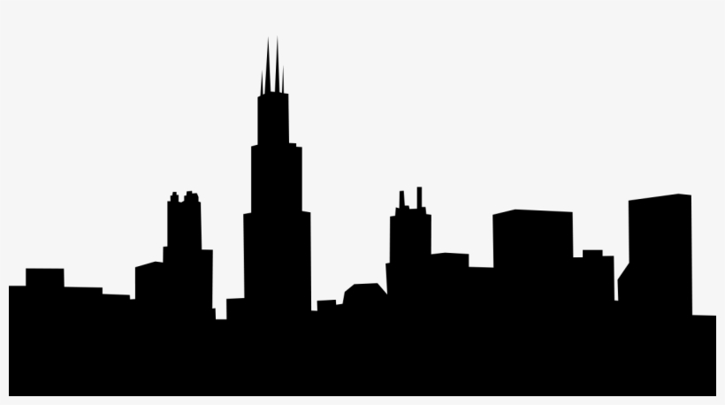 Vector Chicago Skyline Clipart Free - Chicago City Skyline ...