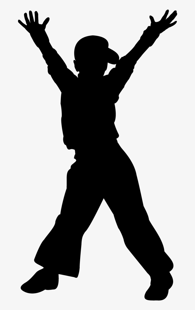 Dancing Clipart Child Dance Hiphop Silhouette Free Free Transparent Png Download Pngkey