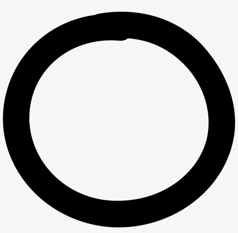 Moon Hand Drawn Circle Svg Png Icon Free Download - Circle Hand Drawn Icon, transparent png #493603