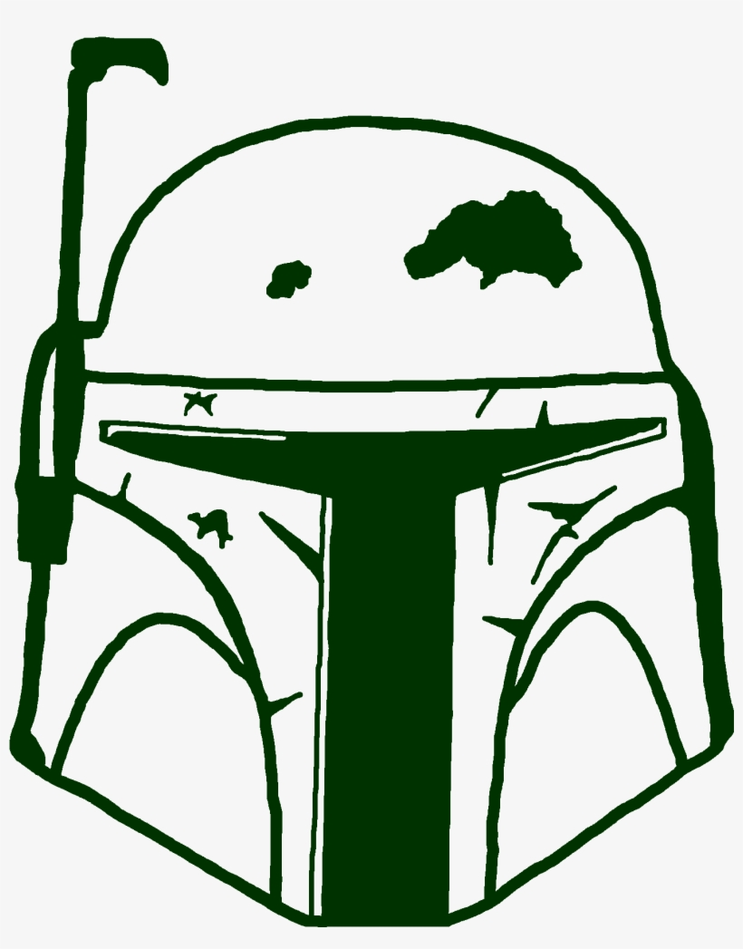 Boba Fett Clipart At Getdrawings Boba Fett Helmet Png Free