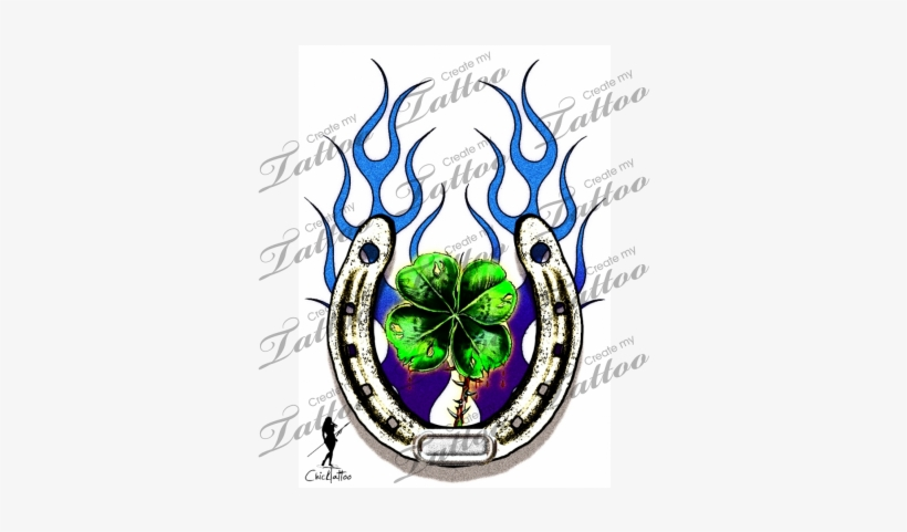 Marketplace Tattoo Lucky Charm - Lucky Charm Tattoo Designs - Free ...
