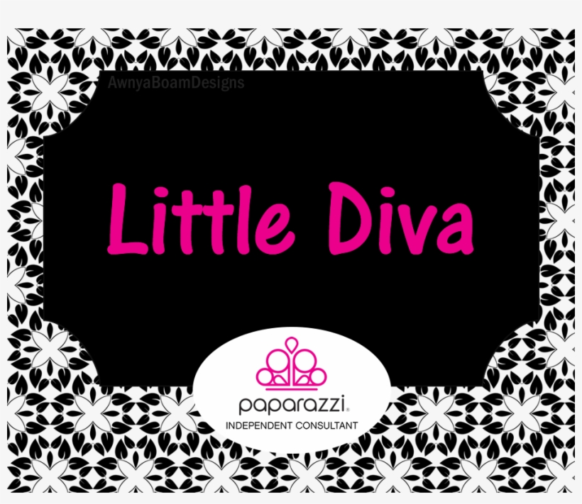 Little Diva Black And White Paparazzi Jewelry Album Paparazzi