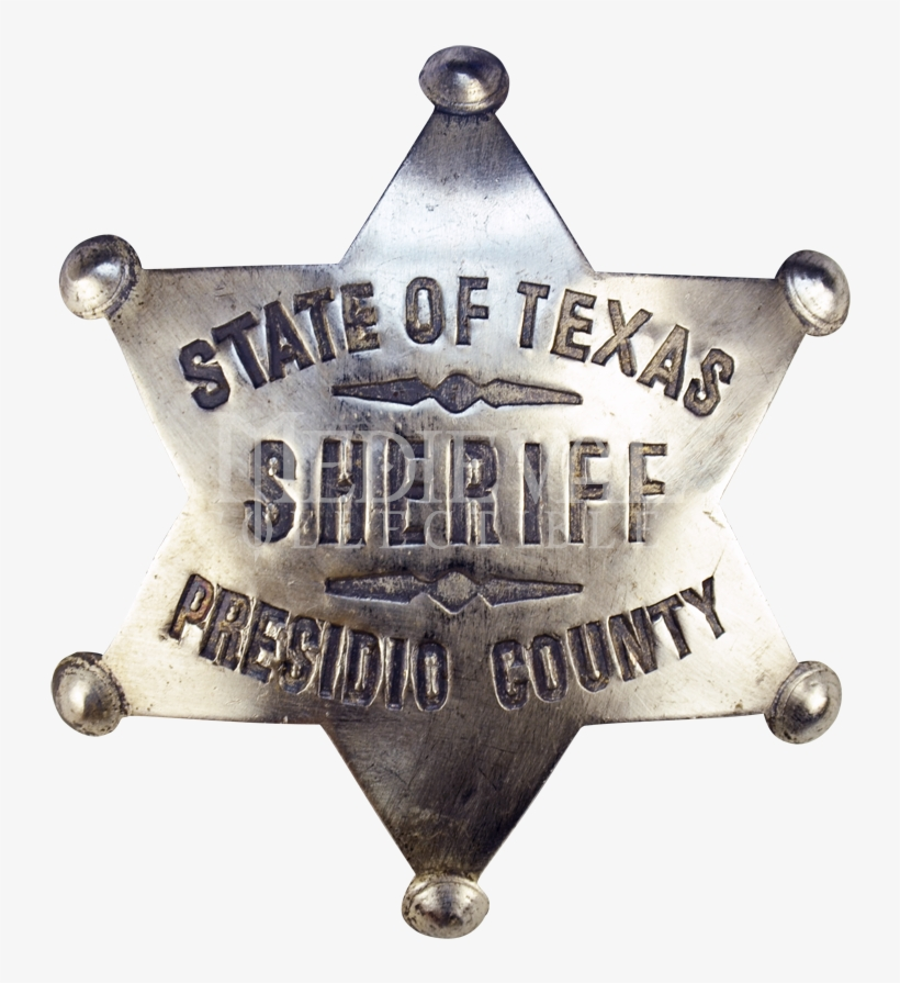 Western Badges, Sheriff Badges, Marshall Badges And - Cowboy Sheriff Badge Png, transparent png #495487