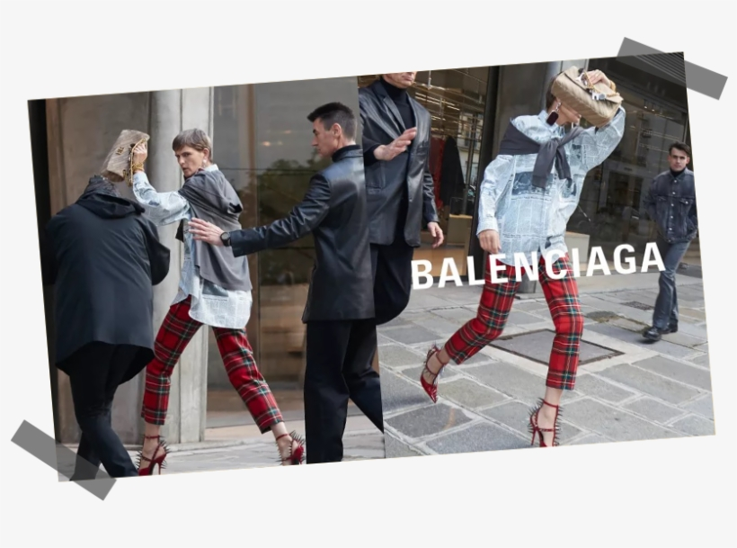 Balenciaga Goes Paparazzi For Their Ss 2018 Campaign - Best Fashion Campaign 2018, transparent png #495651