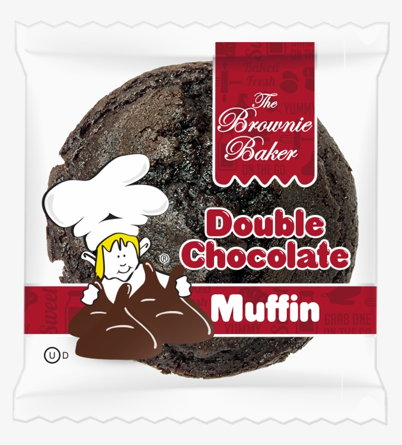 Click For Nutrition - Brownie Baker Cookie, Chocolate Chip - 4 Oz, transparent png #496100