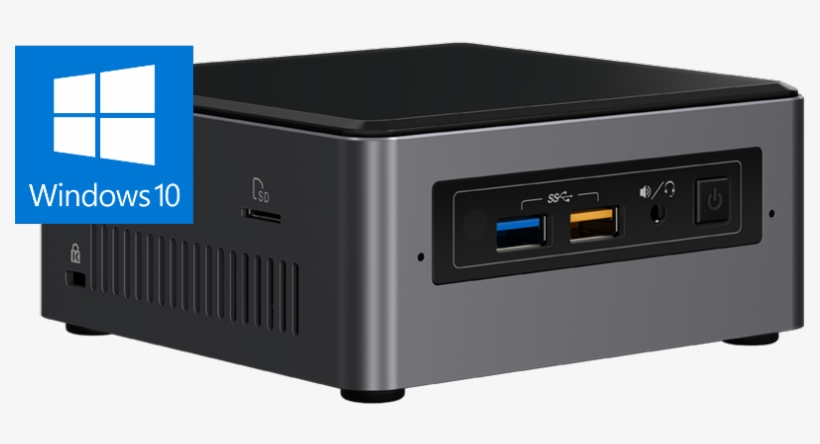 Nuc7i3bnh Front Angle Win10 16×9 - Mini Pc Intel Nuc - Free