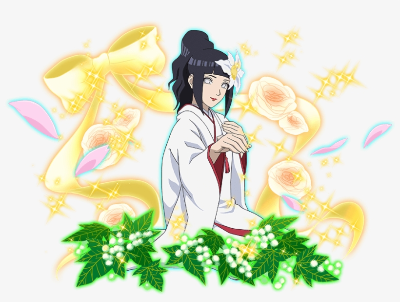 Naruto Hinata Wedding.Wedding Hinata Naruto Blazing Free Transparent Png Download Pngkey