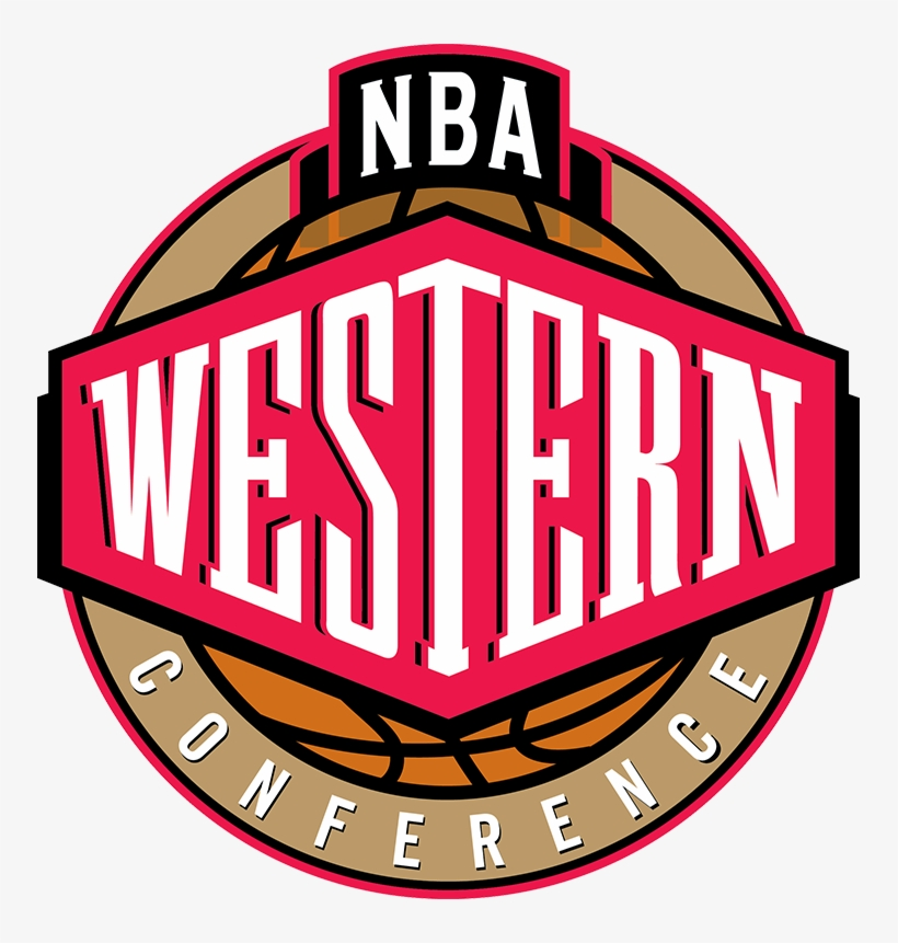 Western Conference Playoff Updatepresented By - Nba Western Conference Logo Png, transparent png #498367