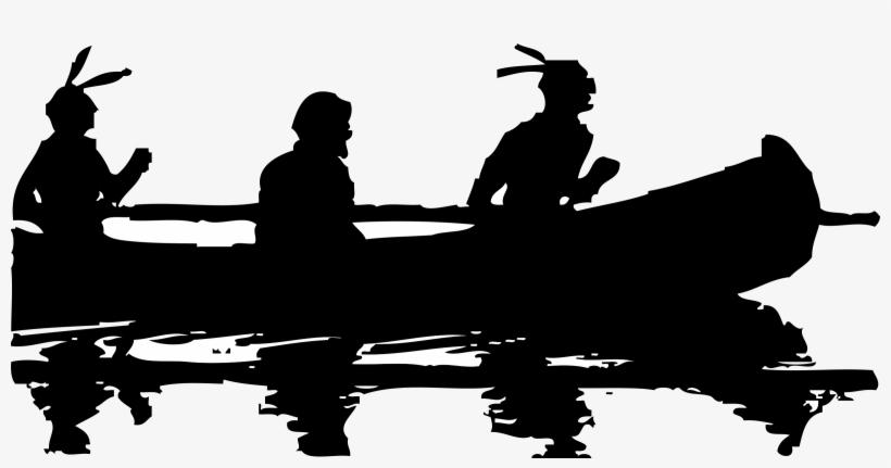 Svg Transparent Library Kayak Clipart Native Canoe - Canoe Clip Art, transparent png #498739