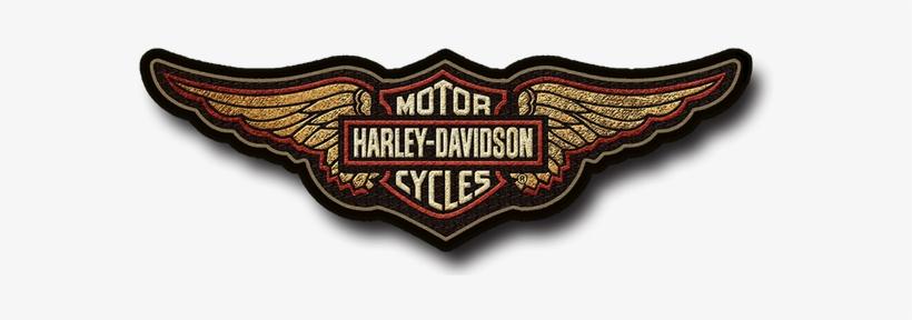 Harley-davidson® Wings Patch Sign - Harley Davidson, transparent png #4901607
