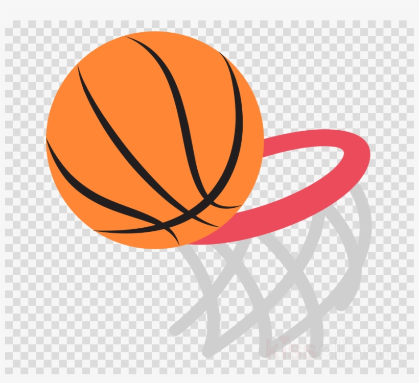 Basketball transparent. Emoji clipart backboard canestro