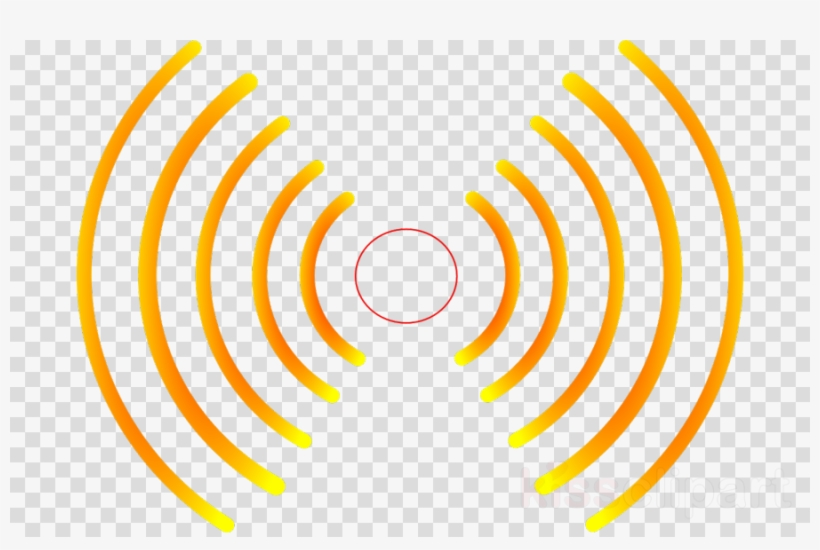 Waves sound. Radio png clipart wave