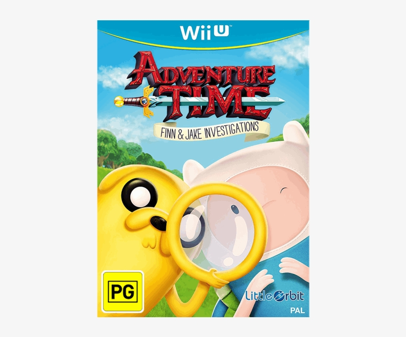 1 Of - Adventure Time Finn & Jake Investigations [wii, transparent png #4921004