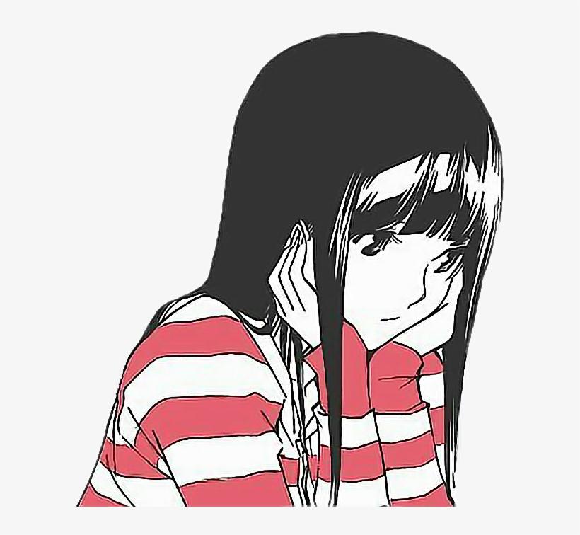 Aesthetic Aesthetictumblr Sad Animefreetoedit Aesthetic Sad Anime