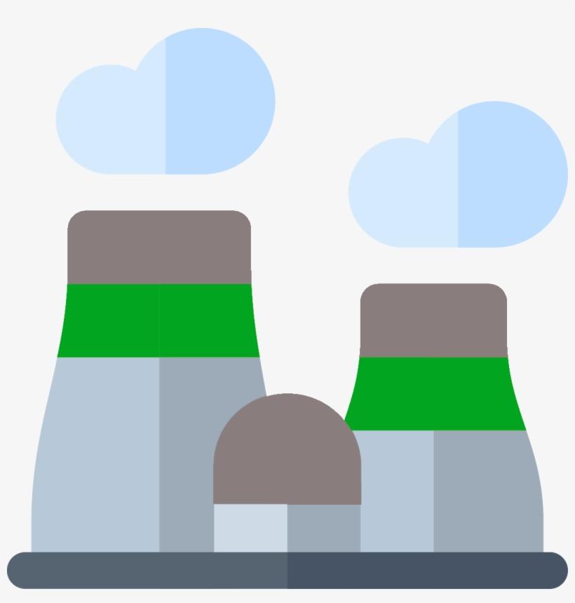Power Plants - Power Plant Cartoon - Free Transparent PNG
