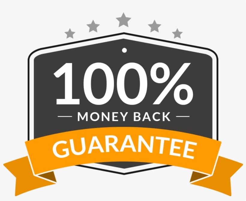 Money-back Guarantee - 100 Money Back Guarantee Png, transparent png #4935102