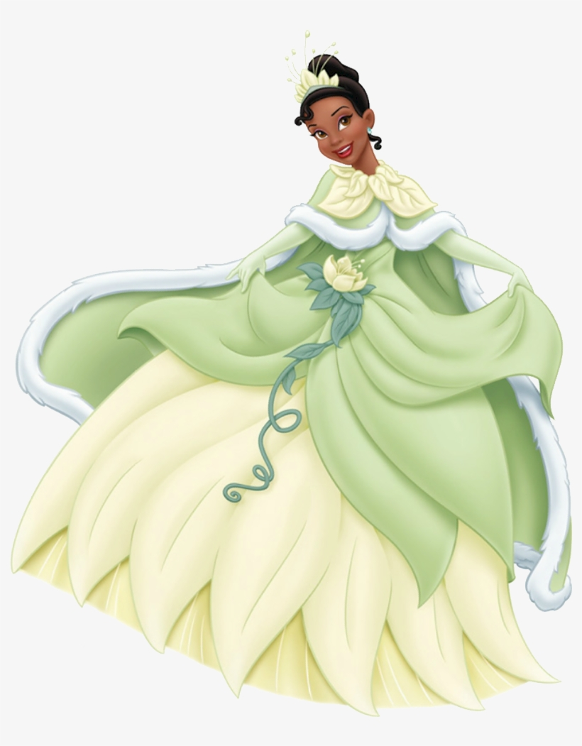 Princess Tiana In Winter Princess Tiana Pinterest Tiana - Princess Tiana Winter Dress, transparent png #4935297
