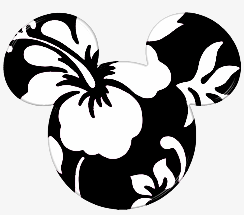 Mickey Head, Mickey Shirt, Disney Mickey, Disney Fun, - Hawaiian Mickey Mouse Head, transparent png #4936598