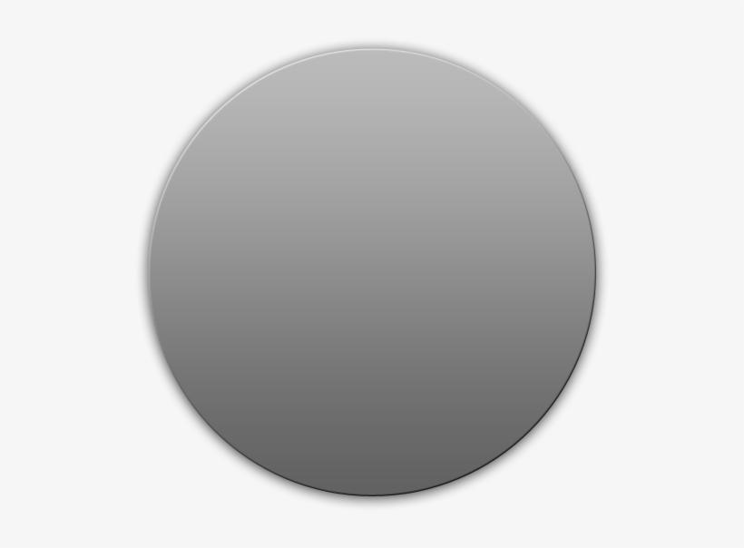 Circle Chanfer - Grey Circle No Background, transparent png #4939961