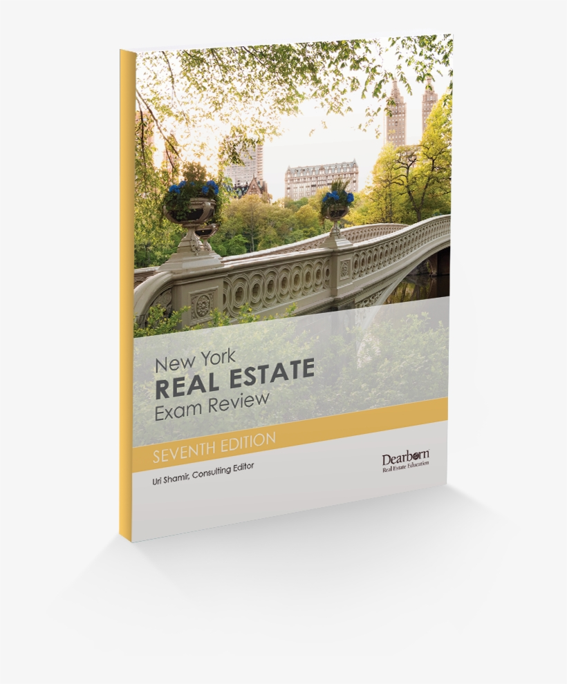 New York Real Estate Exam Review 7th Edition Dearborn - New York Real Estate Exam Review, transparent png #4944241