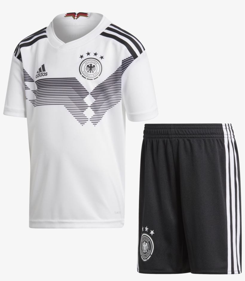 Germany World Cup 2018 Home Minikit - Germany Football Kit 2018 2019, transparent png #4953442