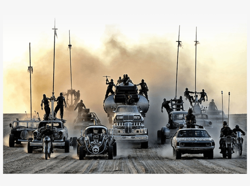 After The Oscar Success Of Mad Max - Mad Max Chase Scene, transparent png #4954696