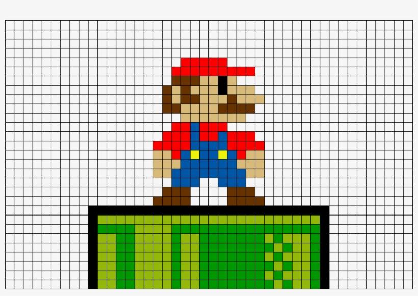 Mario Nes Pixel Art Free Transparent Png Download Pngkey