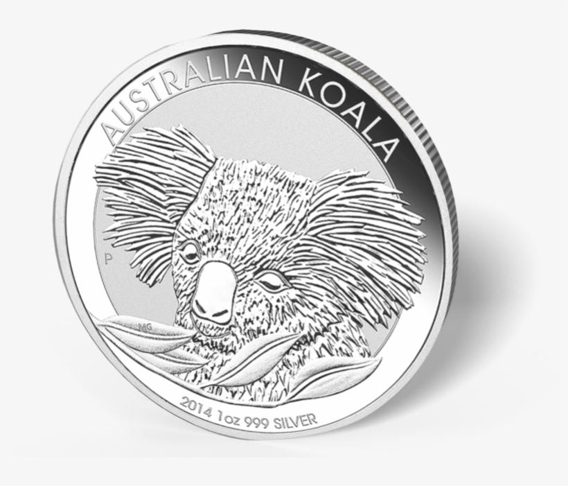 Picture Of 1 Oz Australian Silver Koala - Koala 2014 10 Oz, transparent png #4969549